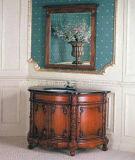 Armário de casa de banho de madeira em estilo clássico (W-005)
