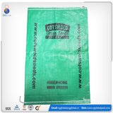 Sac en plastique tissé de riz fait par constructeur de la Chine