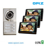 Multi Apartments Video Door Phone met Rain Cover voor 1-3 Apartments (op-D7D9 & D7A8)