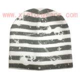 Chapeau tricoté avec l'impression (JRK016)