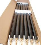 aço inoxidável com o tubo de depressão do tubo de calor aquecedor solar de água