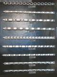 Catene/braccialetti dell'acciaio inossidabile di Bassida