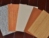 Il colore di legno ha ricoperto la bobina d'acciaio