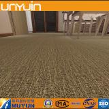 Клей вниз Carpet плитка пола винила зерна