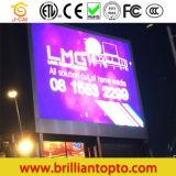 LED de exteriores P10 en la pantalla LED del módulo de publicidad en medios de comunicación
