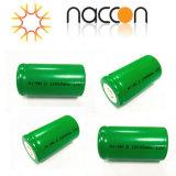 NIMH電池Dのサイズ10000mAh 1.2Vの充電電池
