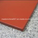 Revestimiento coloreado de la tarjeta del cemento de la fibra