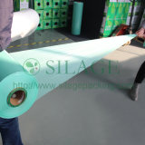 Cor verde, 500mm*25mic*1800m, envolvendo, ensilagem, feno, bala, agricultura