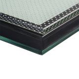 Claro de alta temperatura del panel de cristal templado de seguridad