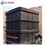 Le Module concret souterrain de soupape de mètre d'écoulement d'eau de Digitals protègent le cadre
