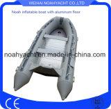 承認される手の膨脹可能なゴム製モーターボートの製造業者でなされるセリウム