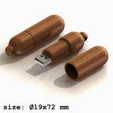 De houten Aandrijving van de Flits USB