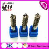 Molen van het Eind van het Carbide van het Hulpmiddel van Jingnuo 4flue CNC Miling de Stevige