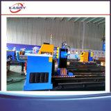 Machine de découpage de pipe de laser Plamsa de commande numérique par ordinateur/machine de découpage d'intersection tube de flamme