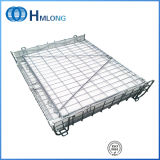 Conteneurs de stockage en fil métallique pliable pour stockage de préformes pour animaux de compagnie
