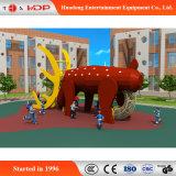 動物シリーズのおかしい子供のスライドの運動場の娯楽装置(HD-MZ005)