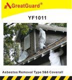 Tipo tuta microporosa di 5&6 (CVA1011) di rimozione di Greatguard Asbesto