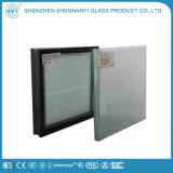 Manchado personalizado Transparente plana aislado de los productos de vidrio templado de seguridad