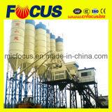Quente-Vendendo a planta de tratamento por lotes concreta Hzs75 do funil molhado do elevador da mistura