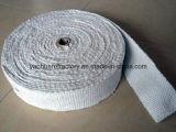 Nastro resistente al fuoco del feltro dell'adesivo della fibra di ceramica dell'isolamento con il di alluminio