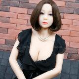 jouet sexy de sexe de Boobs de plein de corps de 158cm de bande de silicones de sexe sein de poupée grand