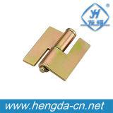 Dobradiça industrial Zinc-Plated da caixa do metal da cor Yh9367