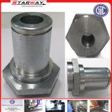 Kundenspezifischer Präzisions-rostfreier Schweißens-Stutzen-Stahlmetallverbindungs-Platten-Beleg auf Flansch (Vorhang, Spule, Legierung)
