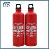 Desportos de alumínio metálico personalizado promocional garrafa de água