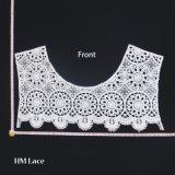 Collare femminile del regalo del collare lavorato a maglia accessorio Openwork del collo della donna del collare del merletto per il collare del Crochet di Ecru delle donne