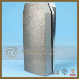 다이아몬드 Fickert 밝은 구체적인 금속 닦는 구획 공구 Fickert