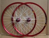 Двухцелевая оправа велосипеда с цветастой штангой