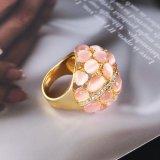 Anillo de dedo cristalino de gato de las mujeres del ojo de la venta de la joyería caliente accesoria de la manera