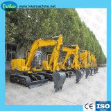 Escavatore centrale del cingolo di formato del macchinario di costruzione della Cina da vendere