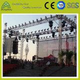 展覧会の移動可能な舞台の背景の照明アルミニウムトラス