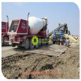 Для тяжелого режима работы HDPE Antislip текстурированные временной дорожной коврики
