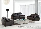 Wohnzimmer-echtes Leder-Sofa (H3016)