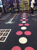 Professional Cheap/PVC/caoutchouc EPDM pour revêtement de sol en carrelage salle de gym/fitness/roll/Mode de verrouillage