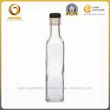 Bouteille transparente d'huile d'olive de la couleur 500ml en stock (1252)