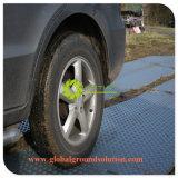 Temporäre Straßen-Matte für schützen die Straße, die im BereichJobsite verwendet wird