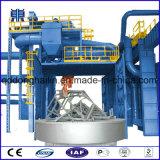 Tipo della piattaforma girevole che rinforza la macchina di granigliatura