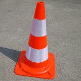 ノルウェー適用範囲が広いPVC道路交通の安全円錐形