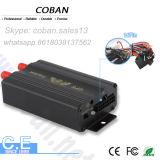 Cobán GPS Tracker Tk 103b vehículo Tracker GPS con el sistema de alarma de combustible de la puerta