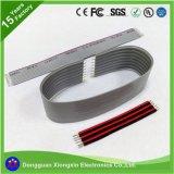 Fio ultra flexível Heatproof do silicone do cabo 12AWG 14AWG 16AWG 22AWG do silicone da costa 300V do vermelho