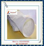 No PTFE expandido álcalis Fibra de fibra de vidrio de la bolsa de filtro de tela para la incineradora de basura