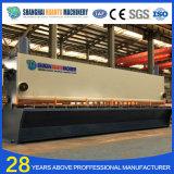QC11y hidráulica CNC máquina de corte de chapa de aço frio