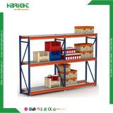 Mecanismo impulsor resistente en estantes del almacén