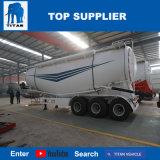 Vehículo del titán - 3 acoplado del petrolero del silo de cemento de Bulker de la harina de los árboles 50000kg para Suráfrica