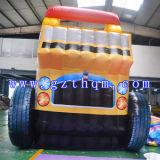 ブルドーザーInflatable Water SlidesかInflatable Trampoline Slides