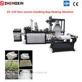Saco não tecido do Seedling da tela que faz a máquina Zx-350