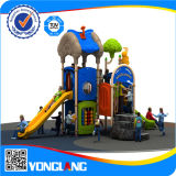 Kinder Plastic Franchise Outdoor Playground Set Fort in China (YL-E042)